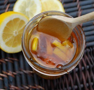 Solutions for a sore throat and winter cold