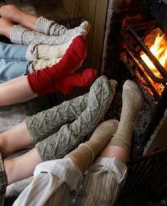 Warm feet = happy sleep