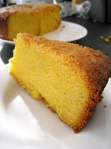 Recipe: Lemon polenta cake