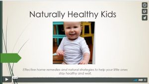 Free webinar: naturally healthy kids