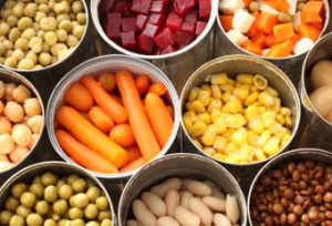 BPA in canned and pre-packed food