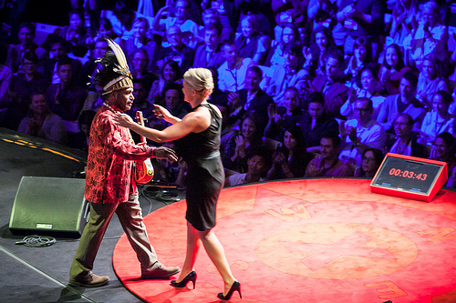 Jennifer Robinson and Benny Wenda TEDx