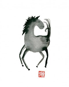 Supermoon + Year of the Horse