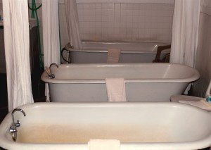 carson mineral hot springs - bath house