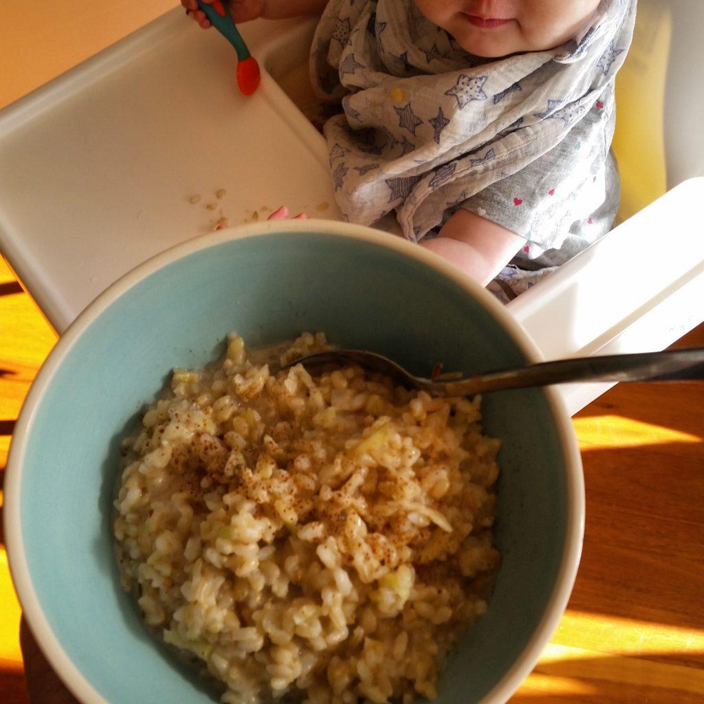 Brown rice porridge