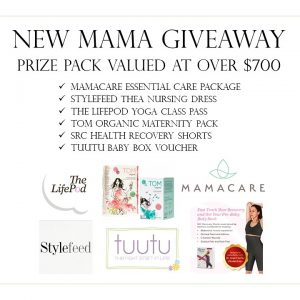 New Mama Giveaway: WIN a $700 prize pack!