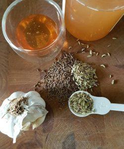 Flu busting brew: oxymel