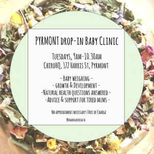 Pyrmont drop-in baby clinic
